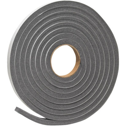 "Picture of Do it 3/4"" W x 1/2"" T x 17' L Charcoal Foam Weatherstrip Tape"