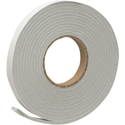 "Picture of Do it 3/4"" W x 3/16"" T x 17' L Gray Foam Weatherstrip Tape"