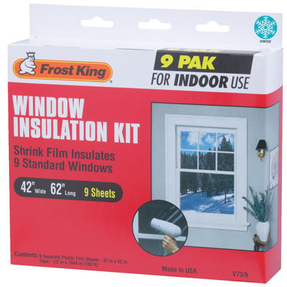Picture of Frost King 42 In. x 62 In. Indoor Shrink Film Window Kit, (9-Pack)