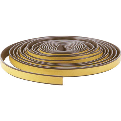 "Picture of Do it Best 1/2"" W x 1/4"" T x 20' L Brown Silicone Weatherstrip Tape"