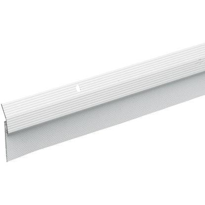 Picture of Do it Best 2 In. W. x 2 In. H. x 36 In. L. White Aluminum Door Bottom