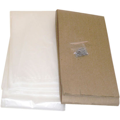 Picture of Do it Outdoor 3 Ft. x 6 Ft. x 1. 25 mil Thick Window Insulation Kit, (4-Pack)