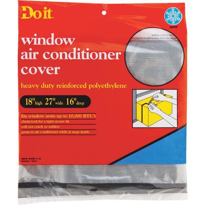 "Picture of Do it 18"" x 27"" x 16"" 6 mil Rectangle Air Conditioner Cover"