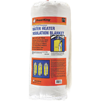 Picture of Frost King 1-1/2 In. Water Heater Insulation Jacket 5-R Value