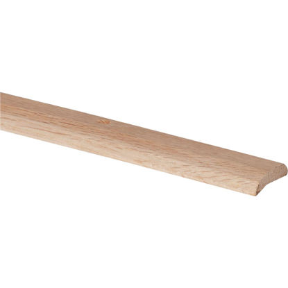 Picture of Do it Unfinished Smooth 1-7/16 In. x 3 Ft. Oak Carpet Trim Bar, Wide