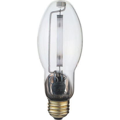 Picture of Satco 150W Clear ED17 Medium High-Pressure Sodium High-Intensity Light Bulb