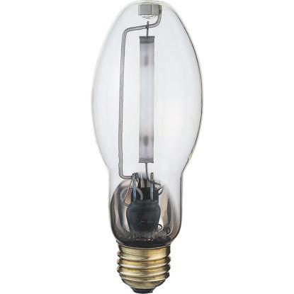 Picture of Satco 100W Clear ET23-1/2 Mogul Screw High-Pressure Sodium High-Intensity Light Bulb
