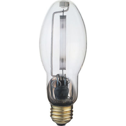 Picture of Satco 150W Clear ET23-1/2 Mogul Screw High-Pressure Sodium High-Intensity Light Bulb