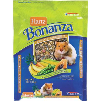 Picture of Hartz Bonanza 4 Lb. Hamster & Gerbil Food