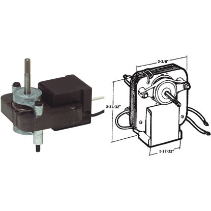 Picture of United States Hardware 115V Copper & Zinc Mobile Home Exhaust Fan Motor