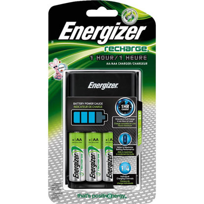 Picture of Energizer Recharge (4) AA or (4) AAA NiMH Battery Charger