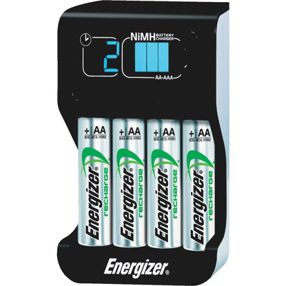 Picture of Energizer (2) or (4) AA, or AAA NiMH Smart Battery Charger