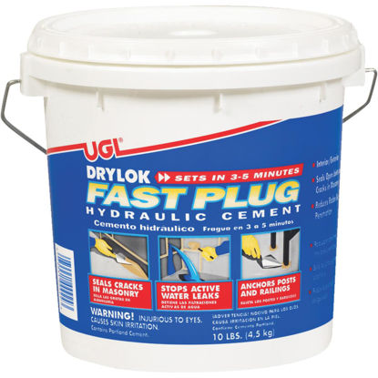 Picture of Drylok Fast Plug 10 Lb. Pail Hydraulic Cement