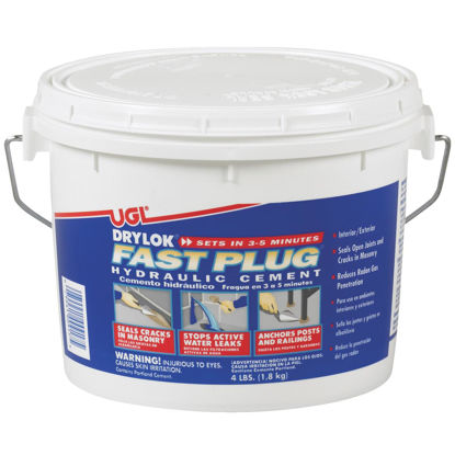 Picture of Drylok Fast Plug 4 Lb. Pail Hydraulic Cement