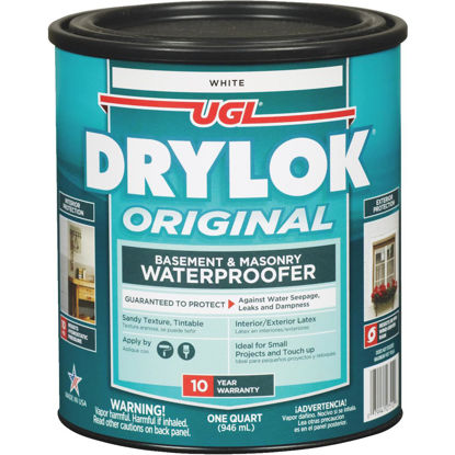 Picture of Drylok White Latex Masonry Waterproofer, 1 Qt.