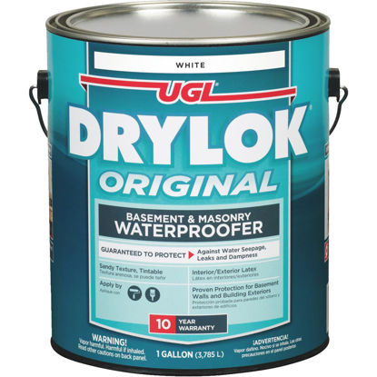 Picture of Drylok White Latex Masonry Waterproofer, 1 Gal.