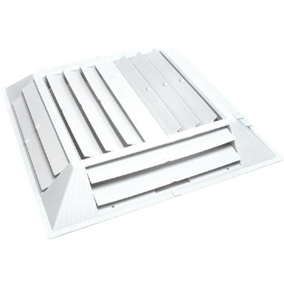 Picture of Dial 22-1/2 In. W x 22-1/2 In. H Six-Way Evap Cooler Grille