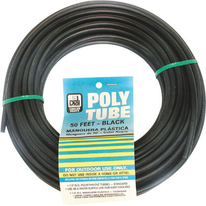 Picture of Dial 1/4 In. OD x 50 Ft. L Black Poly Tubing