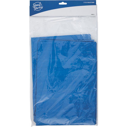 Picture of Smart Savers Blue PE 3 Ft. x 5 Ft. Poly Tarp