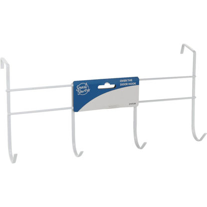 Picture of Smart Savers White Iron Over The Door Hook
