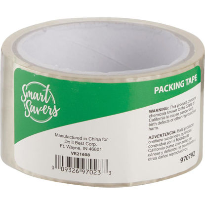 Picture of Smart Savers 4.80 cm x 100 Ft. Clear Packing Tape