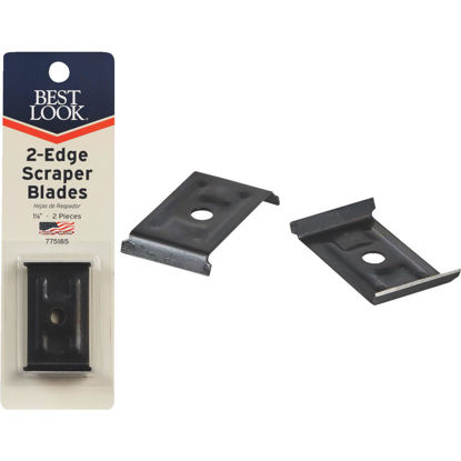 Picture of Best Look 1-1/8 In. Replacement Scraper Blade (2-Pack)
