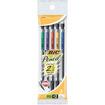 Picture of Bic 0.7 mm Refillable Mechanical Pencil (5-Pack)