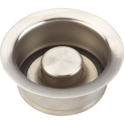 Picture of Do it Brushed Nickel Brass Disposal Flange & Stopper