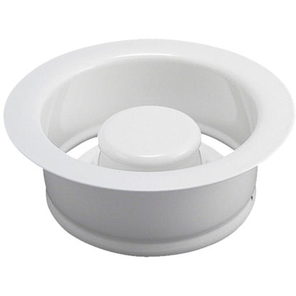 Picture of Do it White Brass Disposal Flange & Stopper