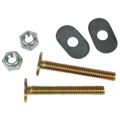 Picture of Do it 1/4 In. x 2-1/2 In. Brass Plated Steel Toilet Bolts (2 Ct.)