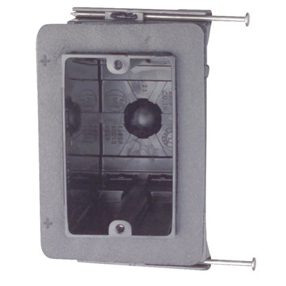 Picture of Carlon 1-Gang PVC Molded Vapor Barrier Wall Box