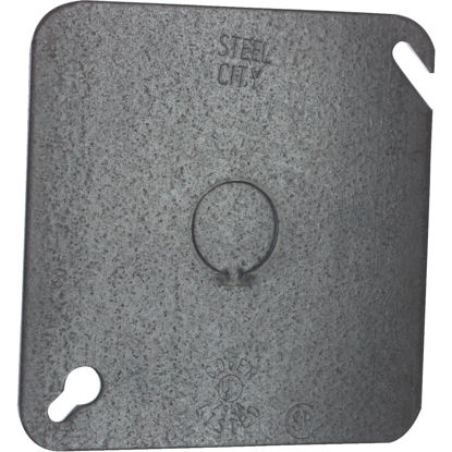 Picture of Steel City 1/2 In. Knockout 4 In. x 4 In. Square Blank Cover