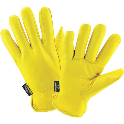 Picture of West Chester Men's Medium Grain Deerskin Leather Winter Work Glove