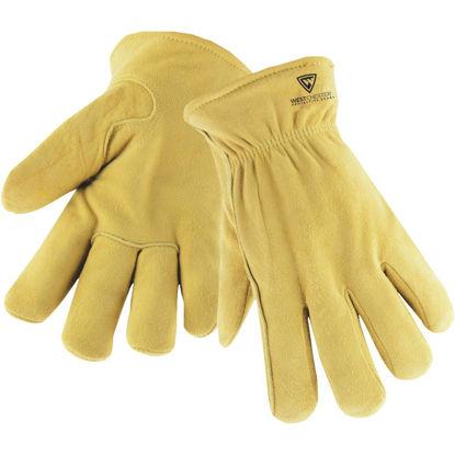 Picture of West Chester Men's Medium Deerskin Leather Winter Work Glove
