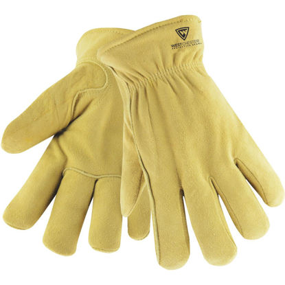 Picture of West Chester Men's Large Deerskin Leather Winter Work Glove
