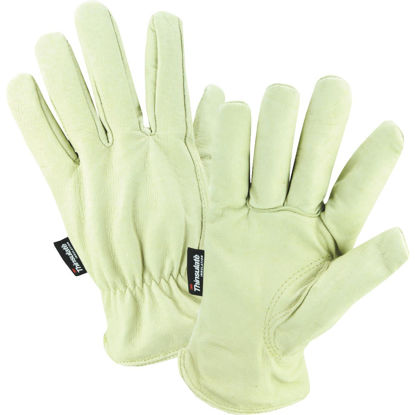 Picture of West Chester Men's Large Grain Pigkin Leather Driver Winter Work Glove