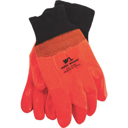 Picture of Wells Lamont Men's 1 Size Fits All PVC Coated Cotton Chemical Resistant Winter Glove