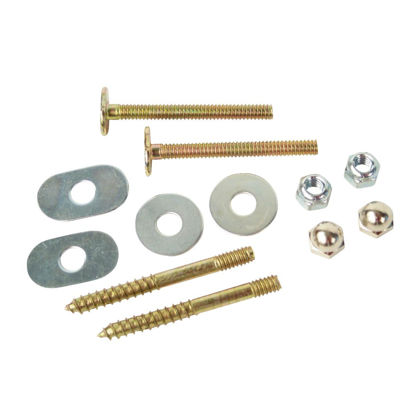 Picture of Do it 1/4 In. x 2-1/4 In. Brass-Plated Steel Toilet Screws