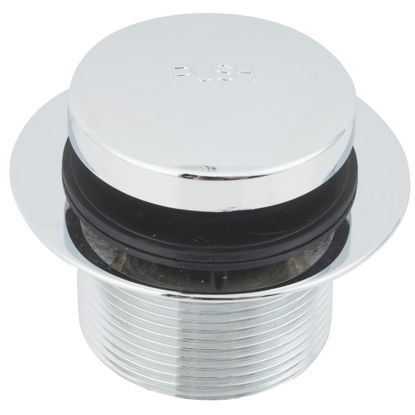 Picture of Do it 1-7/8 In. to 2-1/4 In. Bathtub Drain Stopper with Chrome Plated Finish
