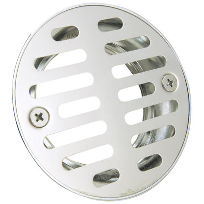 Picture of Do it 2 In. Cast Brass Shower Drain with 3-1/2 In. Stainless Steel Strainer