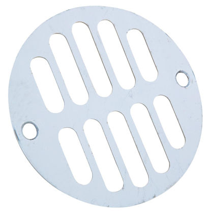 Picture of Do it 3-5/16 In. Chrome Grill Shower Drain Strainer