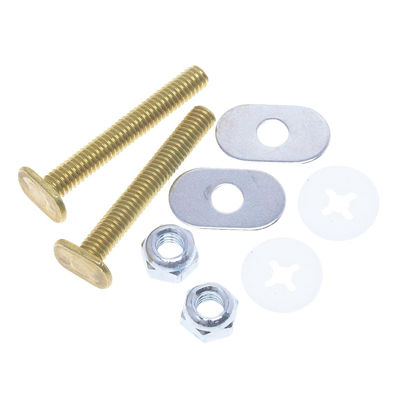 Picture of Do it 1/4 In. Brass Toilet Bolt Set
