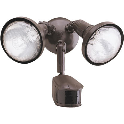 Picture of All-Pro Bronze Motion Sensing Dusk To Dawn Incandescent Floodlight Fixture