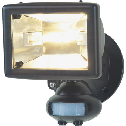 Picture of Designers Edge Brown Motion Sensing Dusk To Dawn Halogen Floodlight Fixture