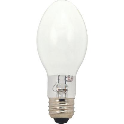 Picture of Satco 100W Coated ED17 Medium Mercury Vapor High-Intensity Light Bulb