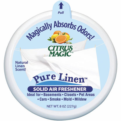 Picture of Citrus Magic 8 Oz. Pure Linen Solid Air Freshener
