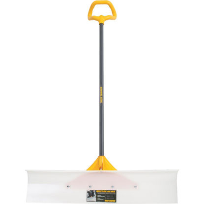 Picture of True Temper 36 In. Nylon Snow Pusher with 42 In. Steel Handle