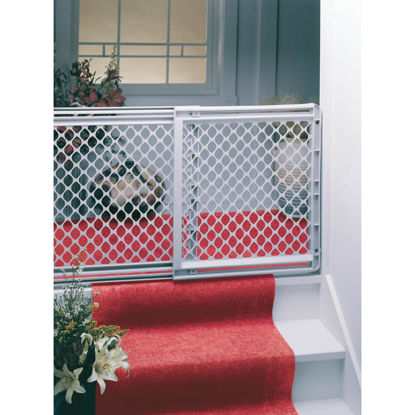 Picture of North States 26 In. to 41 In. Expandable Stairway Wall Mount Safety Gate