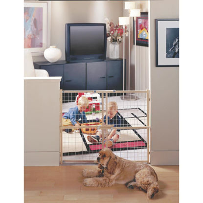 Picture of North States 29 In. to 50 In. Expandable Wood Safety Gate