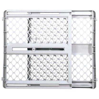 Picture of North States 26 In. to 42 In. W. White Plastic Universal Pet Gate